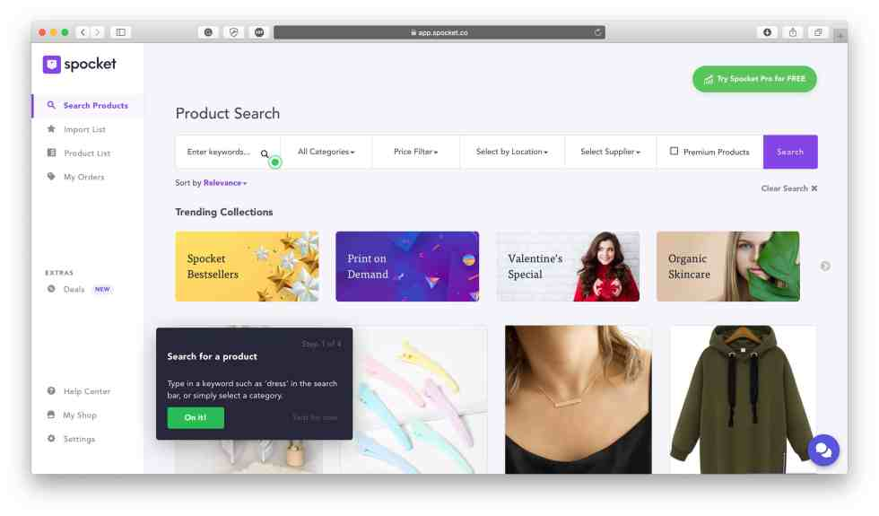 Spocket review