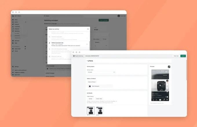Tiktok Partners With Shopify