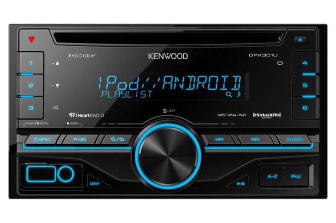 kenwood dpx301u cd player