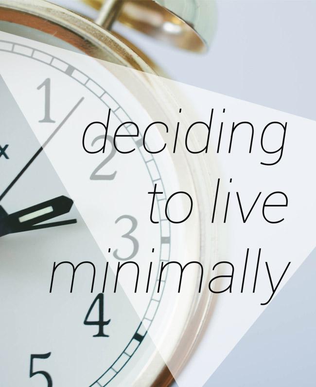 going-minimal-time