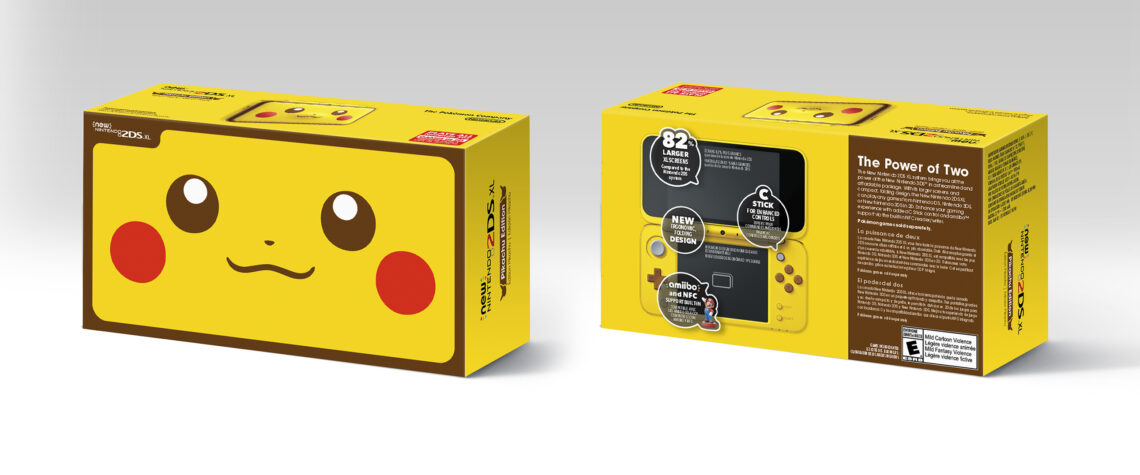 New Nintendo 2ds Xl Pikachu Edition Launches In Stores On Jan 26