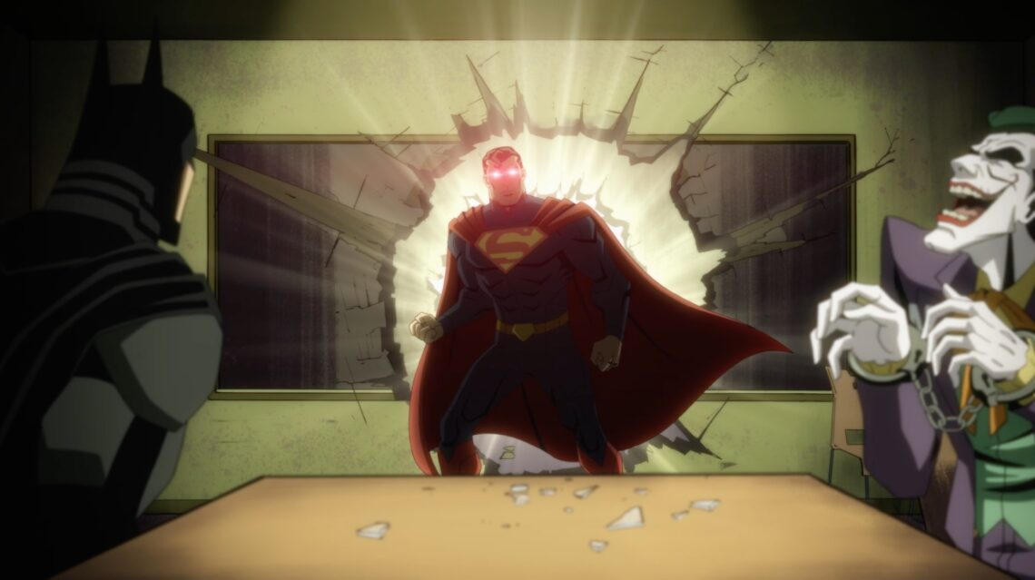Trailer for all-new DC Animated Movie Injustice – Drop The Spotlight