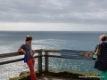 Whale watching at Point Byron