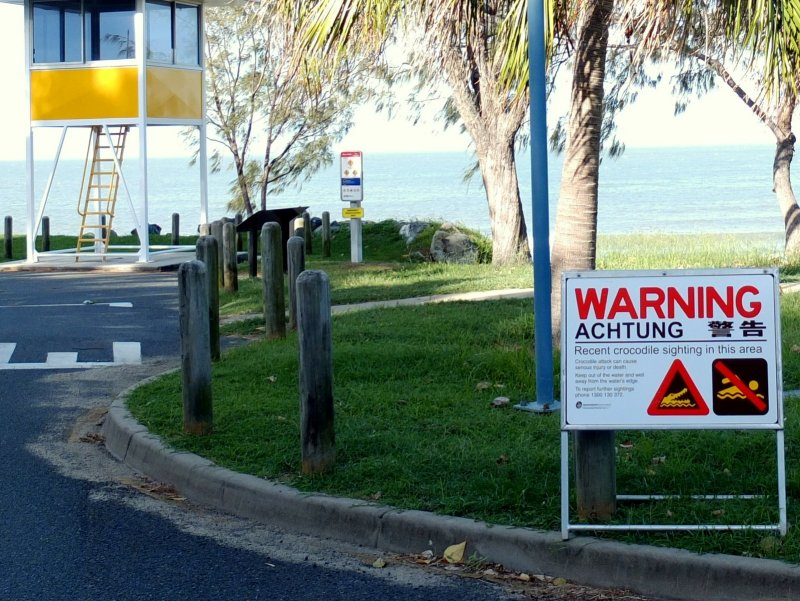 These signs are not a rare view in the tropical north