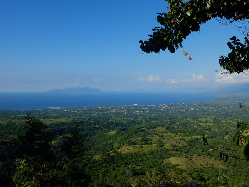 View of Maumere. The white thing on the see towards the left is the Wuring village you can read about below.