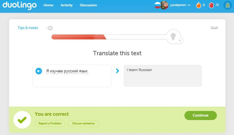 Learning languages can be fun with applications like Duoligo!