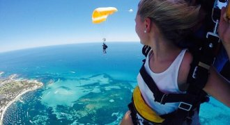 Skydive Geronimo Rottnest Island