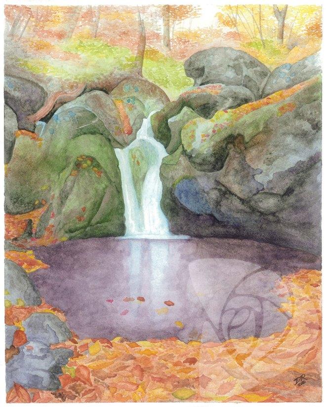 Dark Hollow Falls by Danielle Rose