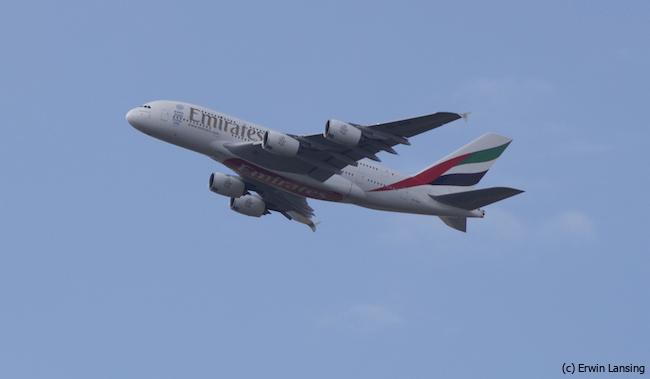 Emirates A380 CPH