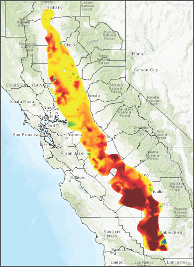 Source: Department of Water Resources. Groundwater Information Center Interactive Map Application. https://gis.water.ca.gov/app/gicima/