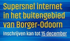 Extra informatie- en inschrijfavond glasvezel Borger-Odoorn @ Het Vertier | Drouwenerveen | Drenthe | Nederland