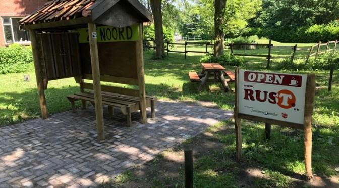 Eerste Drentse Rustpunt geopend in Drouwenerveen