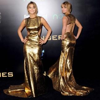 5. Prabal Gurung – The Hunger Games L.A. premiere (2012)