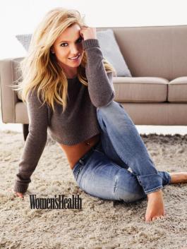Britney Spears - Women's Health 2015