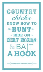 Country - Fishing Quote