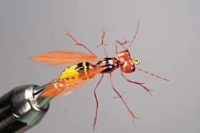 Wasp fishing fly pattern
