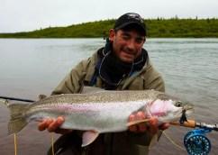 Alaska, No See Um Lodge - Matt Harris Wild Rainbow