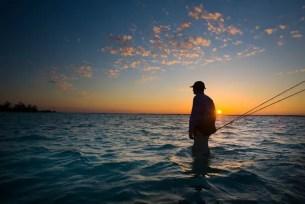 Fishing the flats at sunset by Matt Harris