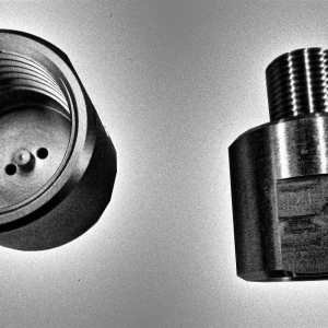 Stainless Steel Direct Air Adapter