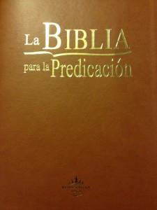 La Biblia para la Predicación
