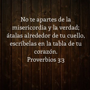 Proverbios 3.3