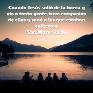 Mateo 14.14