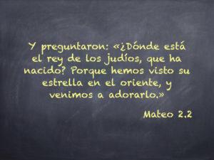 Mateo 2.3