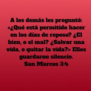 Marcos 3.4