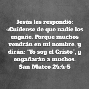 Mateo 24.4-5