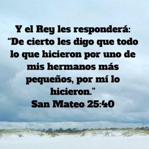 Mateo 25.40