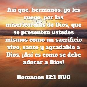 Romanos 12.1