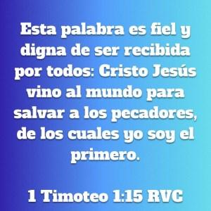 1 Timoteo 1.15