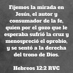Hebreos 12.2
