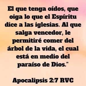 Apocalipsis 2.7