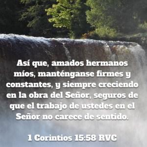 1 Corintios 15.58