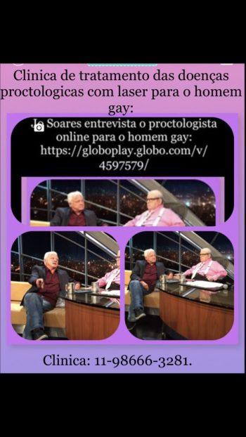 Jo Soares entrevista o proctologista online Dr Paulo Branco.