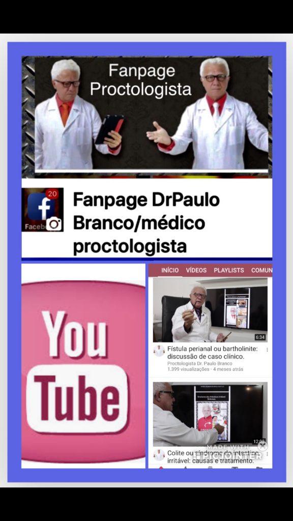 Fanpage dr paulo Branco/médico proctologista