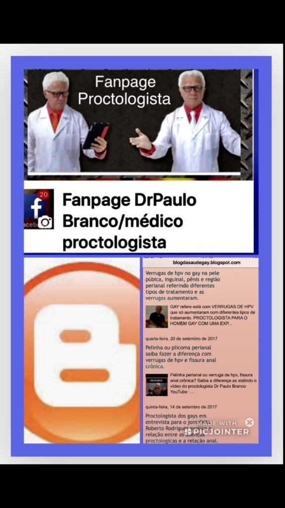 fanpage do medico proctologista