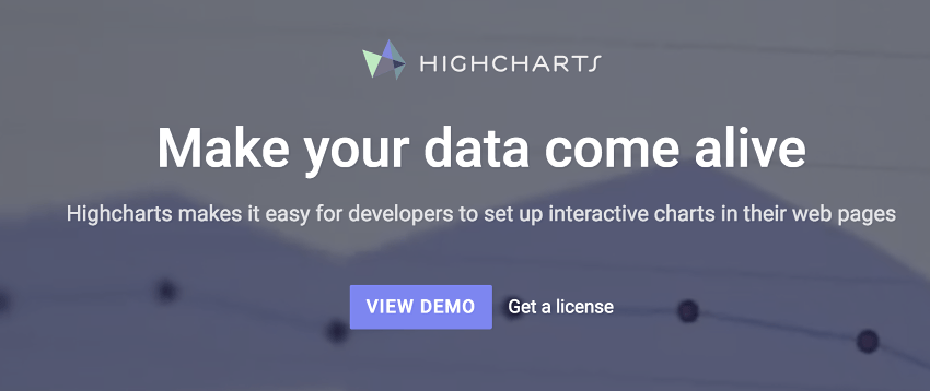 HIGHCHARTS - Free for personal or non-profit use