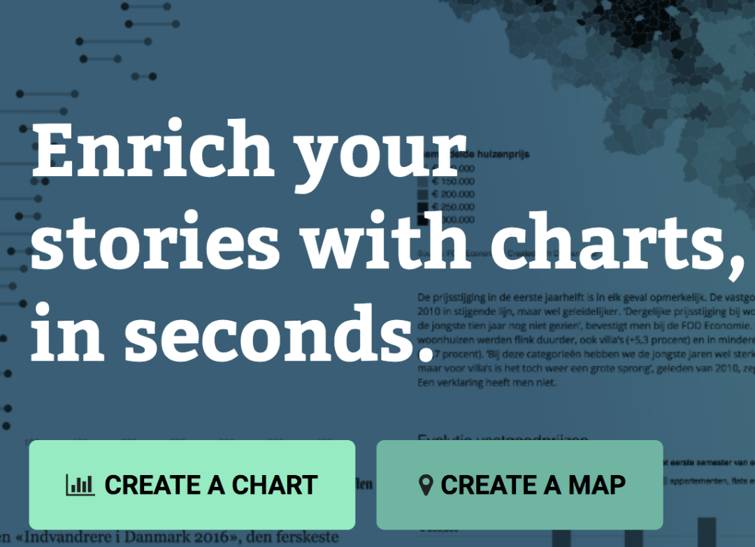 DATAWRAPPER - Free for occasional use. No coding required.