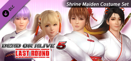 DOA5LR Shrine Maiden Costume Set Free Download PC Game