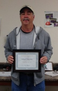 "William ""Bill"" Whitt 25 Years of Service"