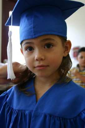 little graduate - Preschool Children Reach Higher Literacy Levels