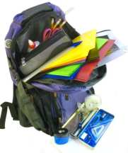 backpack - Basic School Supplies Students Need