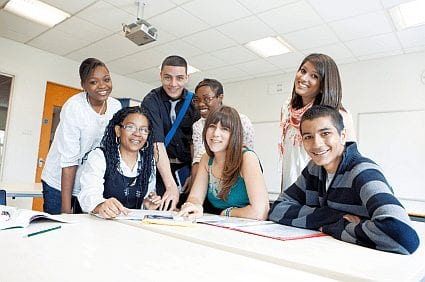 high school students in class - 5 Strategies to Improve High School Attendance