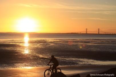 Bike Ride at Sunset SSI