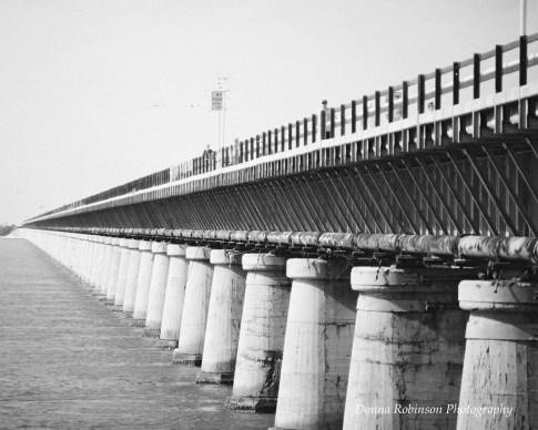 The Original 7 Mile Bridge, Key West FL