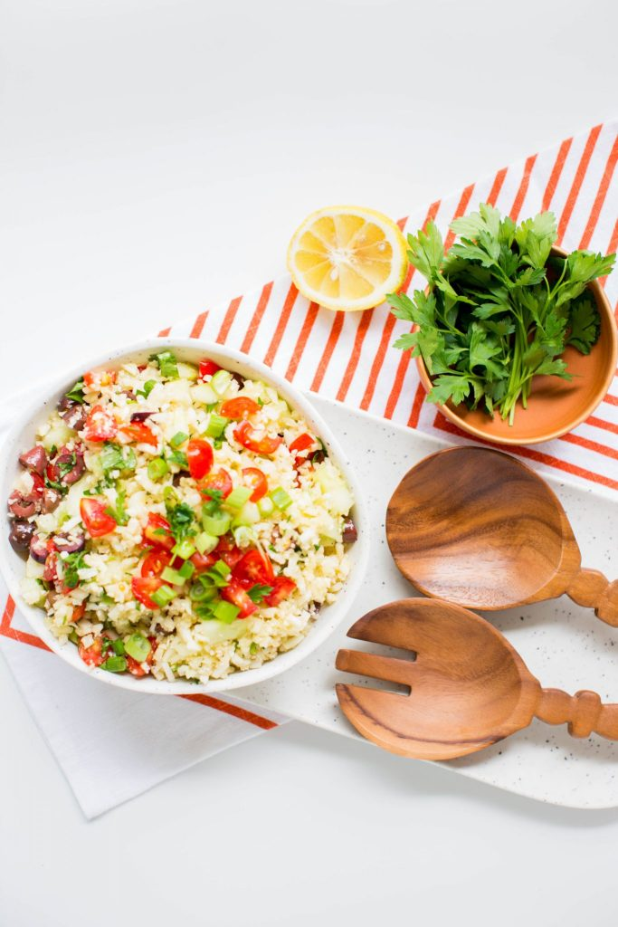Cauliflower Tabbouleh Recipe
