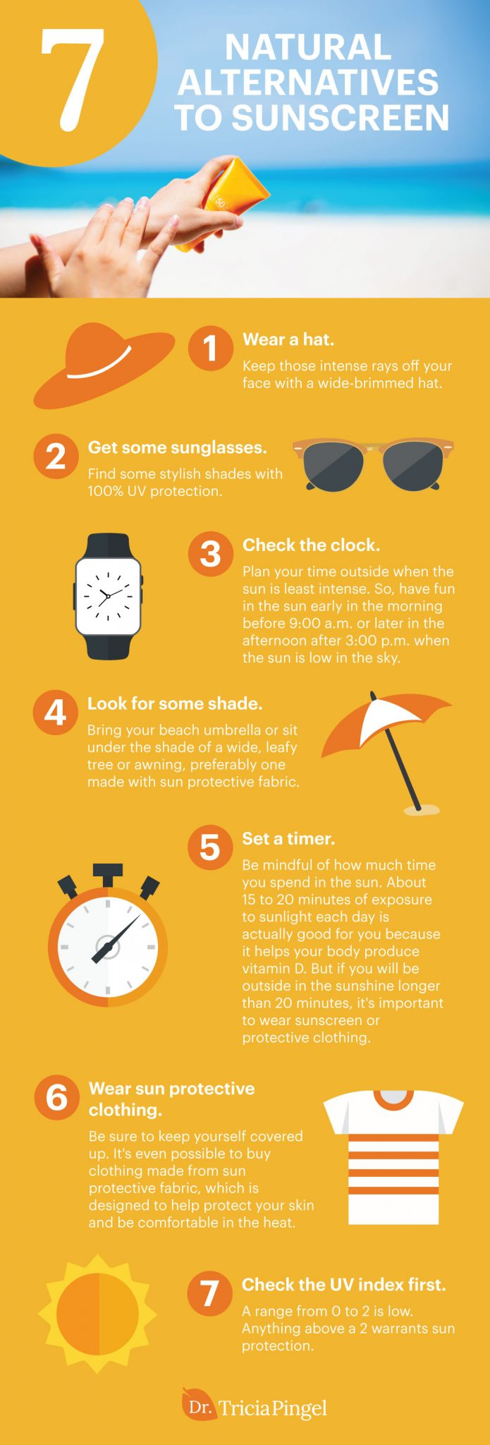 Natural sunscreen alternatives - Dr. Pingel