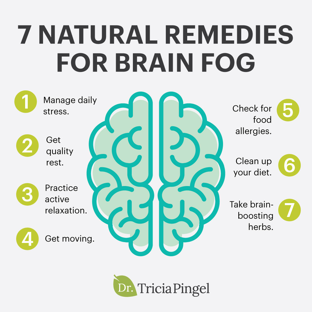 How to Get Rid of Brain Fog: 7 Natural Remedies - Dr ...